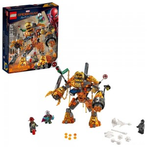 LEGO Super Heroes Marvel Spider-Man Molten Man Battle 76128 - Sale