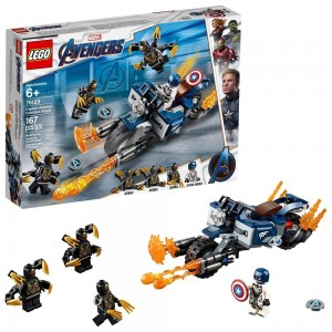 LEGO Super Heroes Marvel Avengers Movie 4 Captain America: Outriders Attack 76123 - Sale