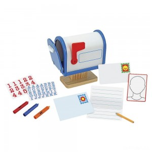 Melissa & Doug My Own Wooden Mailbox Activity Set and Educational Toy - Sale