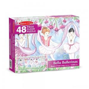 Melissa & Doug Bella Ballerina Jumbo Jigsaw Floor Puzzle 48pc - Sale
