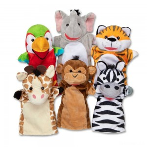 Melissa & Doug Safari Buddies Hand Puppets - Sale