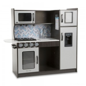 Melissa & Doug Chef's Kitchen Pretend Play Set - Charcoal - Sale
