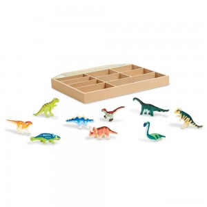 Melissa & Doug Dinosaur Party Play Set - 9 Collectible Miniature Dinosaurs in a Case - Sale