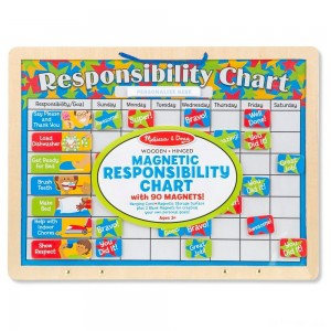 Melissa & Doug Magnetic Responsibility Chart - Sale