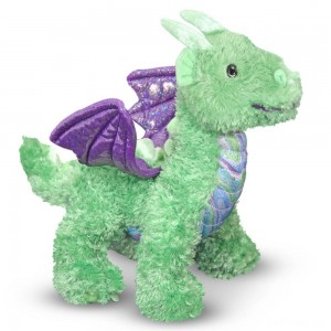 Melissa & Doug Zephyr Dragon Stuffed Animal - Sale
