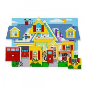 Melissa & Doug Around the House Sound Puzzle Set - 8pc - Sale