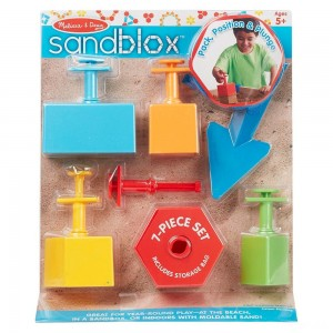 Melissa & Doug Sandblox Sand Shape-and-Mold Tool Set - Sale