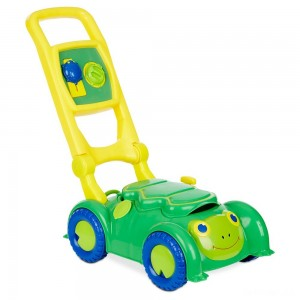 Melissa & Doug Sunny Patch Snappy Turtle Lawn Mower - Pretend Play Toy for Kids - Sale