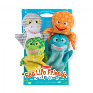 Melissa & Doug Sea Life Friends Hand Puppets - Sale