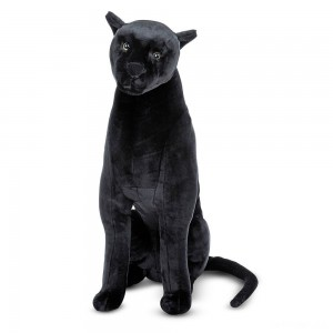 Melissa & Doug Giant Panther - Lifelike Stuffed Animal (nearly 3 feet tall) - Sale